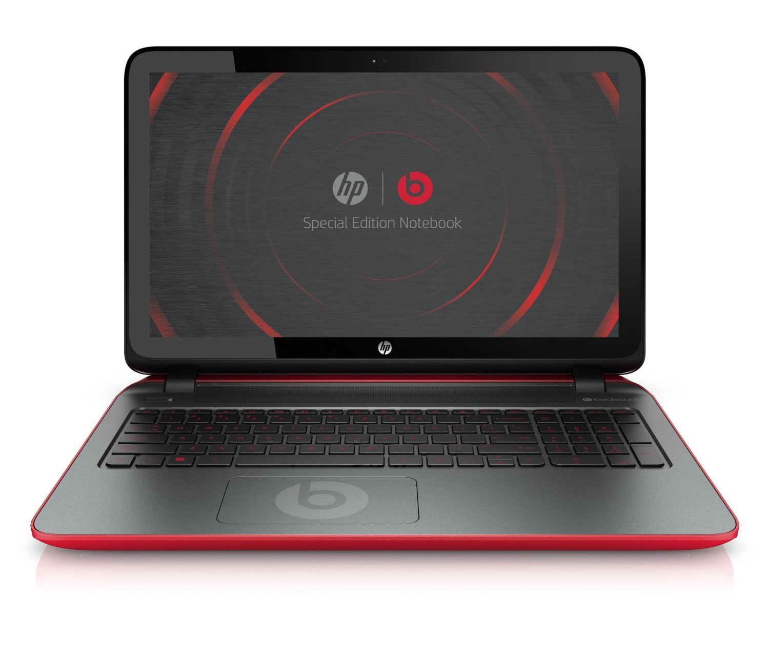 hp 15 p030nr 15 6 inch special edition laptop with beats. Black Bedroom Furniture Sets. Home Design Ideas